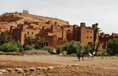 Aït-Benhaddou, Elizabeth Around the World, Elizabeth McSheffrey, Morocco