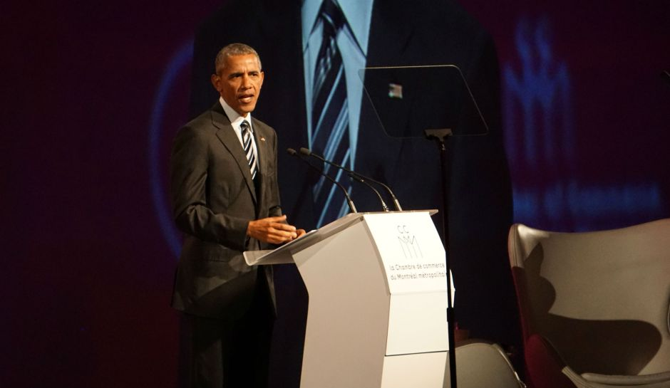Barack Obama, Montreal, Chamber of Commerce, Elizabeth McSheffrey