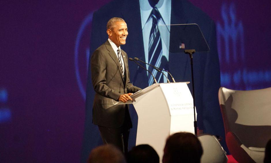 Barack Obama, Montreal, Chamber of Commerce, Elizabeth McSheffrey