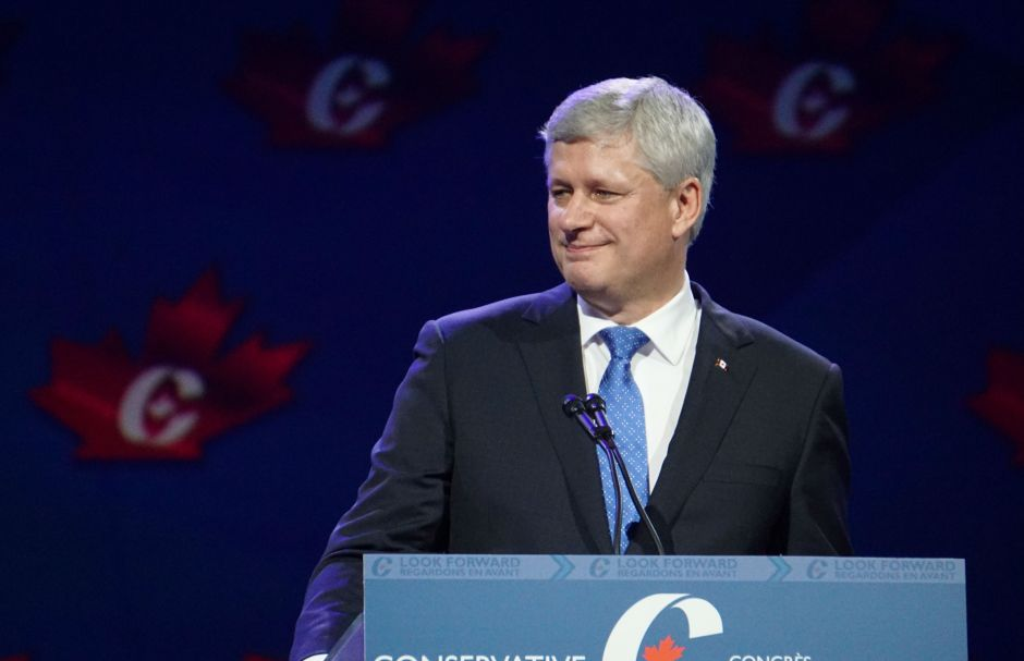 Stephen Harper, Conservative Party Convention, Elizabeth McSheffrey, Vancouver