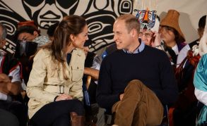 Will and Kate, Duke and Duchess of Cambridge, Elizabeth McSheffrey, Bella Bella, Heiltsuk First Nation
