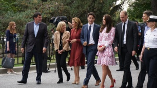 Justin Trudeau, Duchess of Cambridge, Kate Middleton, Prince William